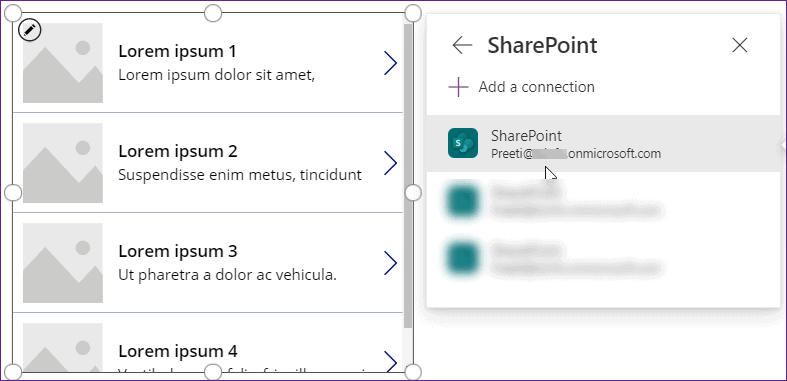 patch function in power apps
