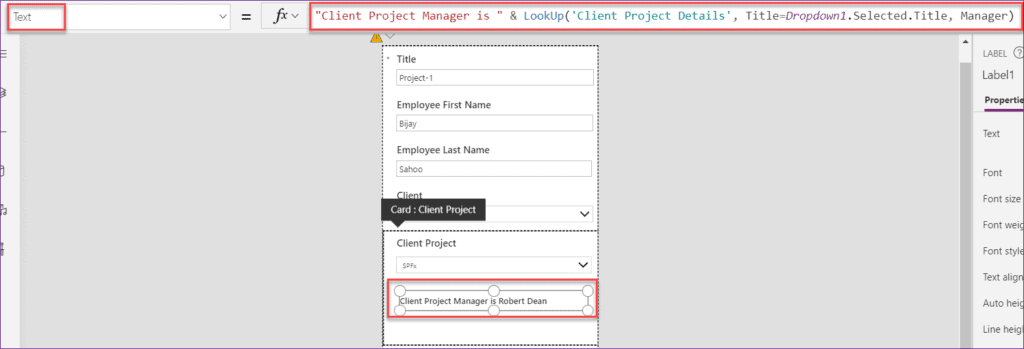 powerapps dropdown lookup filter