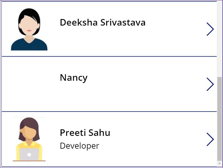powerapps company directory