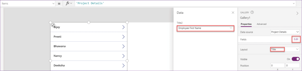 Powerapps patch function
