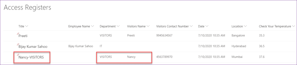 set the field value based on another field in power apps