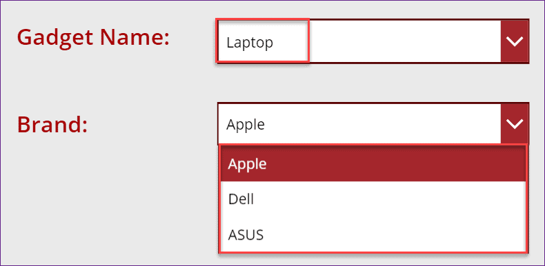 Cascading Dropdown in PowerApps using SharePoint List