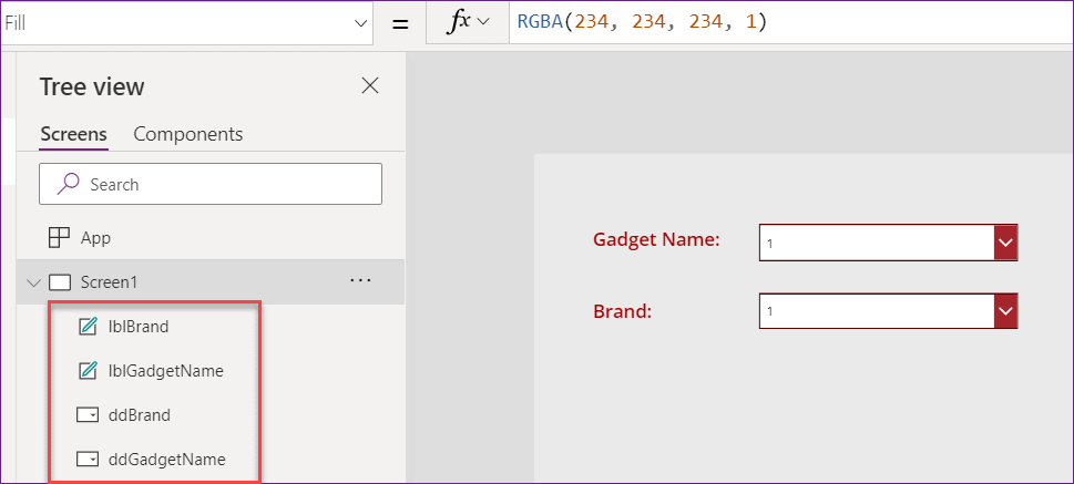 PowerApps Cascading Dropdown SharePoint List