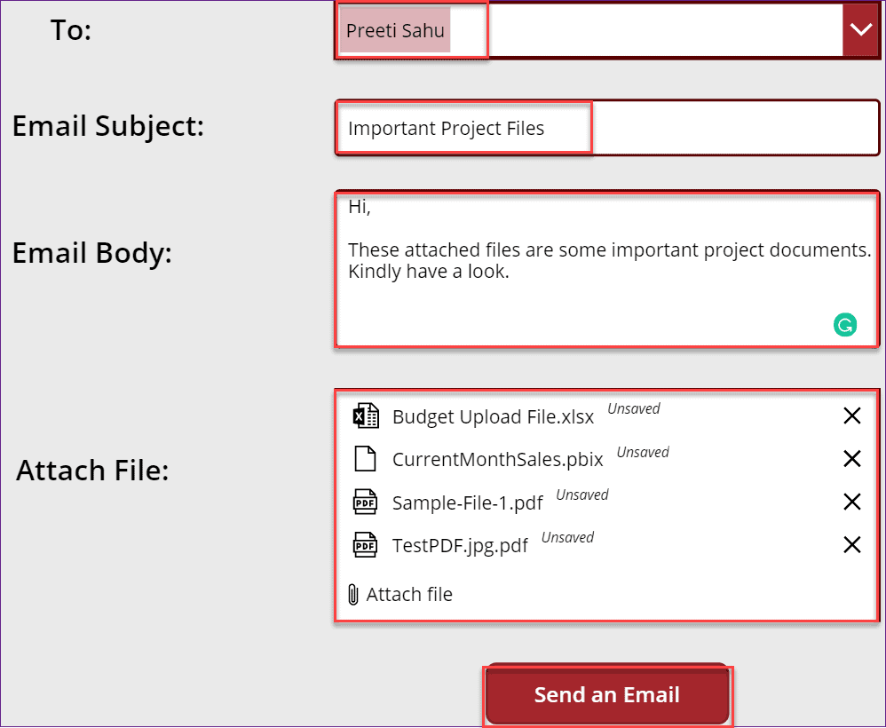 Powerapps Attachments Control