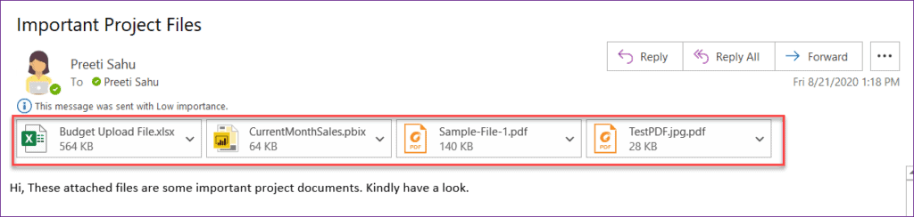 Powerapps Email Attachments