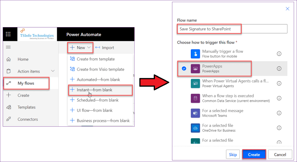 Powerapps save signature to SharePoint