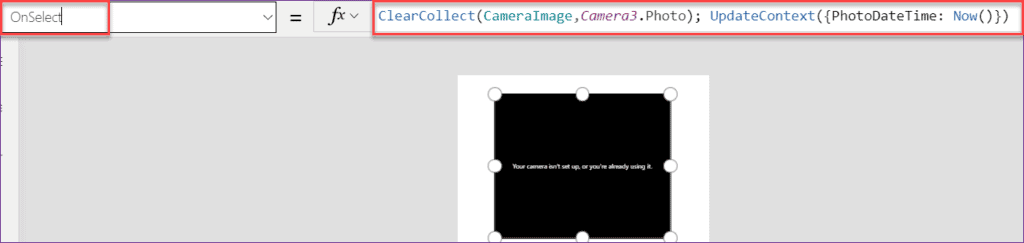 Save captured image in SharePoint List without Power apps flow