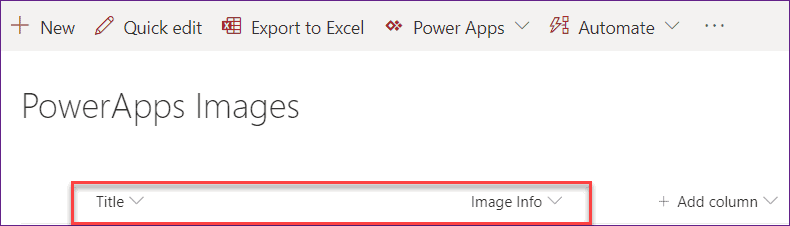 Save captured image in SharePoint List in powerapps