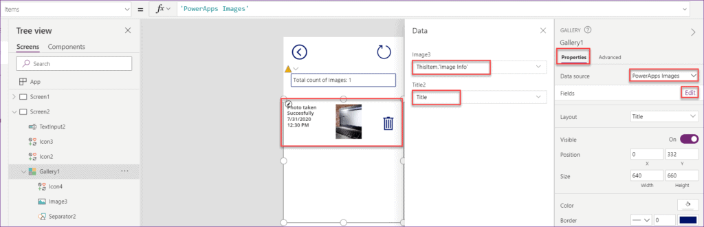 Save image in SharePoint list without Power apps flow
