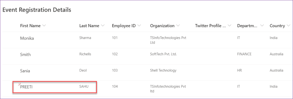 Lower, Upper, and Proper functions in PowerApps