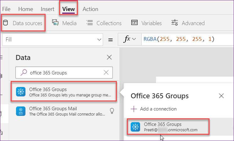 get users from a sharepoint group in powerapps