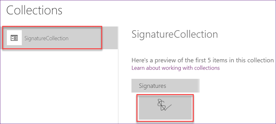 how to add signature in powerapps