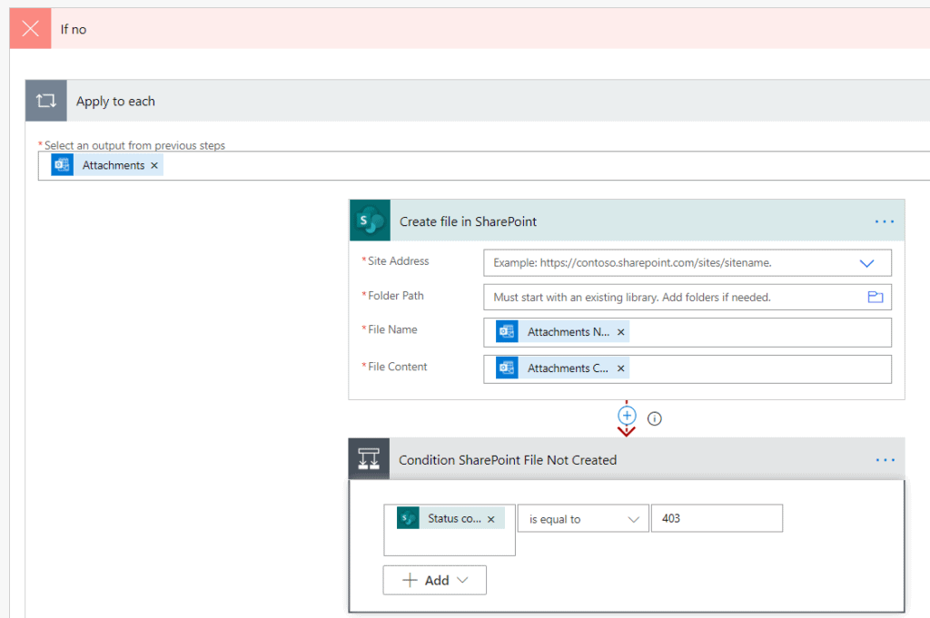 how to save email attachments to sharepoint library