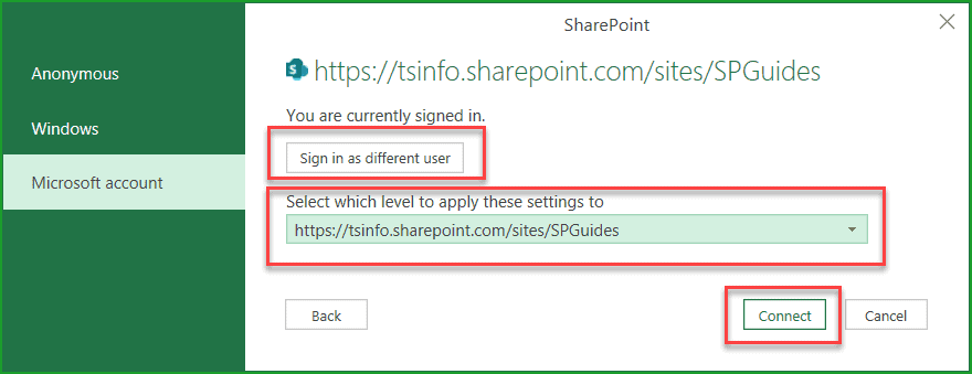 open sharepoint list in excel online