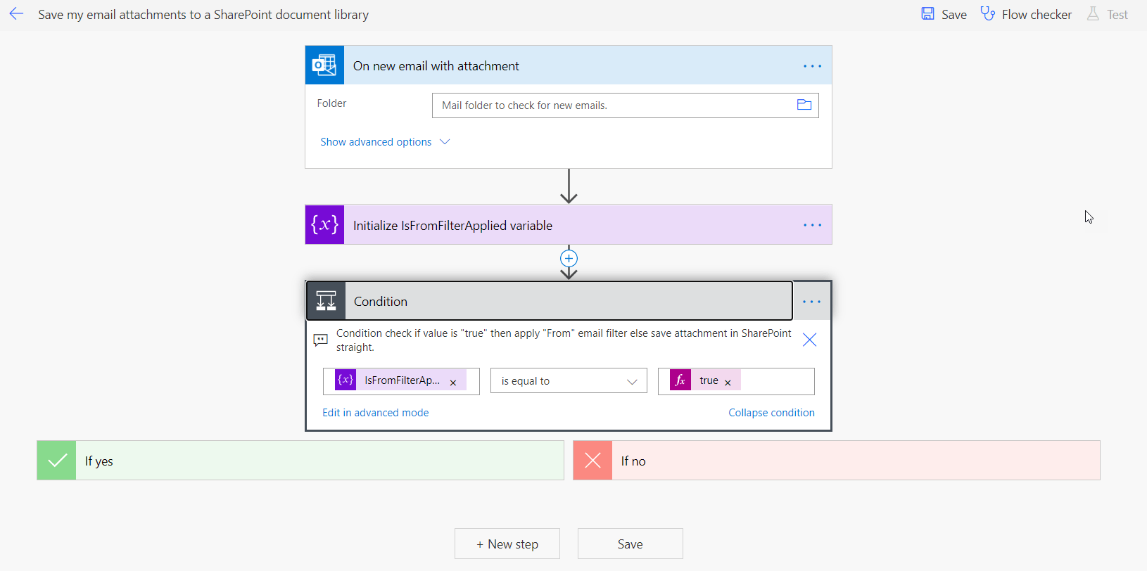 save email attachments to sharepoint