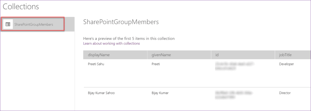 sharepoint group permission to powerapps field