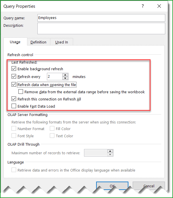 sync sharepoint list with excel