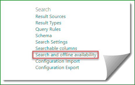 Disable content on a SharePoint site to be searchable