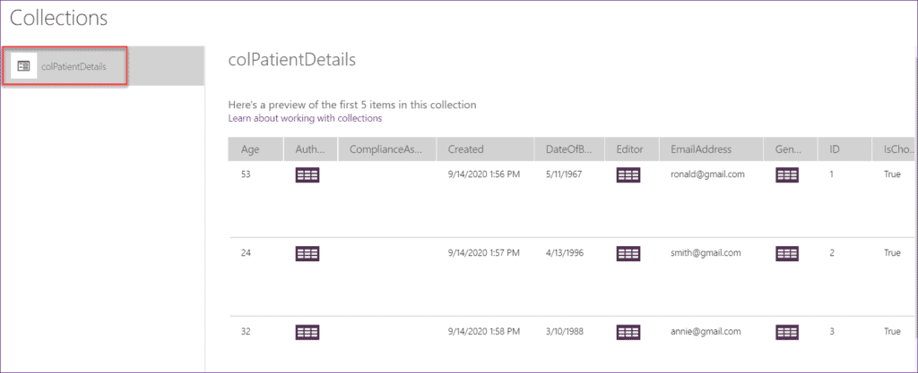 Export Collection to CSV in PowerApps