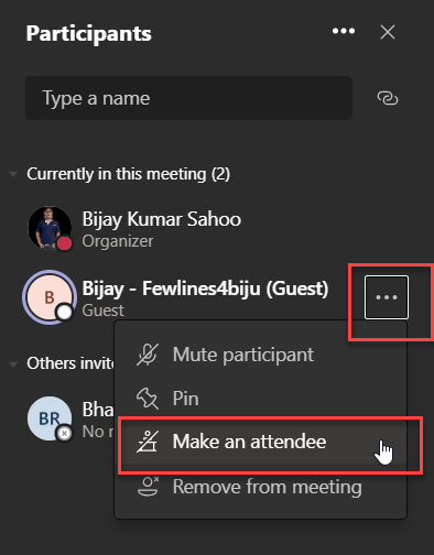 How external guest users can participate in Microsoft teams meetings