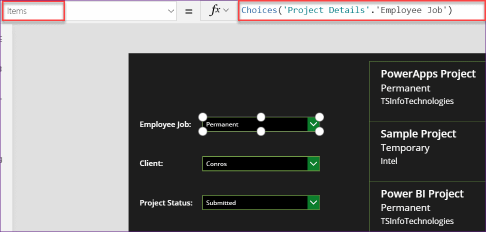 How to Filter Gallery by multiple Dropdown control in PowerApps