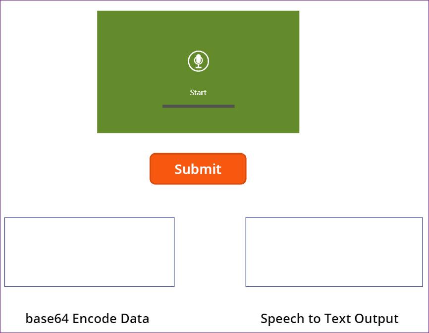 Power apps speech to text