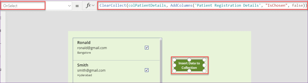 PowerApps Export Collection to CSV
