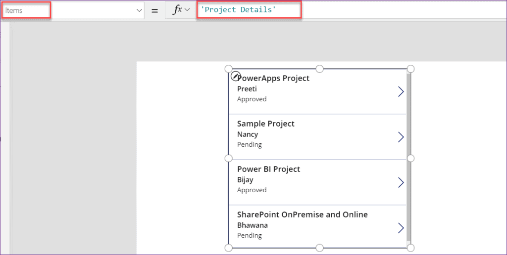 PowerApps Filter Gallery by Dropdown control