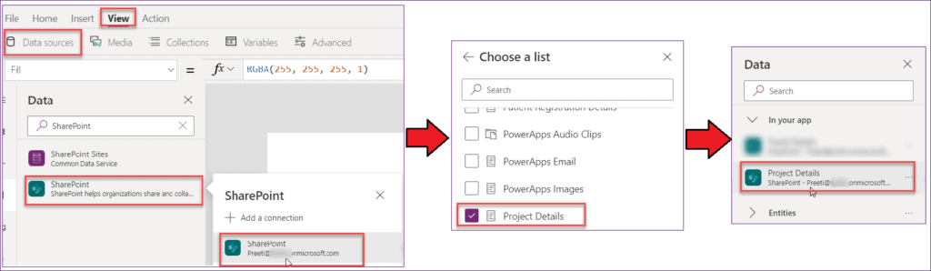 PowerApps Gallery SharePoint