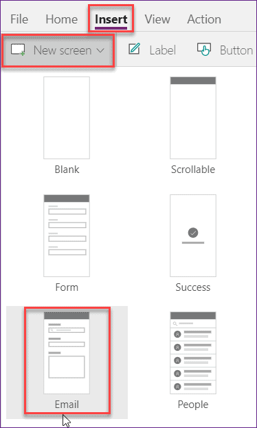 PowerApps send email function