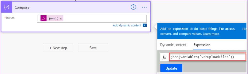 Powerapps upload multiple files to SharePoint library using flow