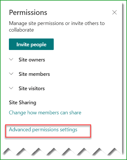 change sharepoint site collection administrator in office 365 group connected site
