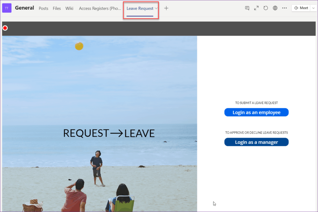 connect powerapps to teams