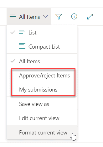content approval in sharepoint online library