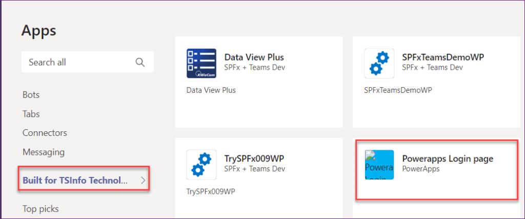 embed app to Microsoft teams