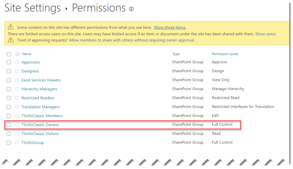 find SharePoint site owner in Office 365