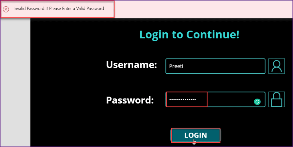 how to create powerapps login page