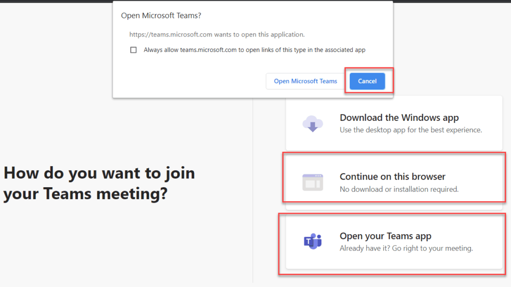 microsoft teams invite external users to meeting 1