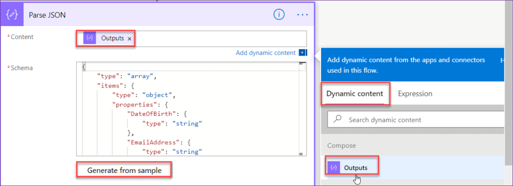 powerapps create csv file SharePoint