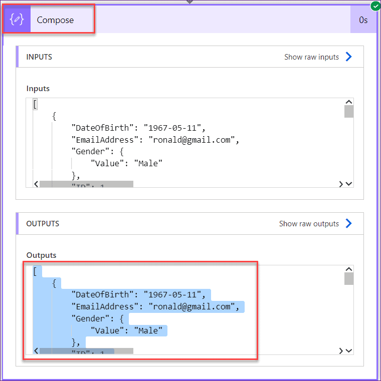 powerapps create csv file