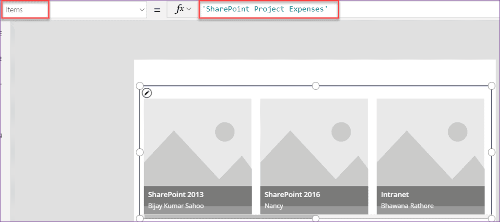 powerapps filter sharepoint list by current user