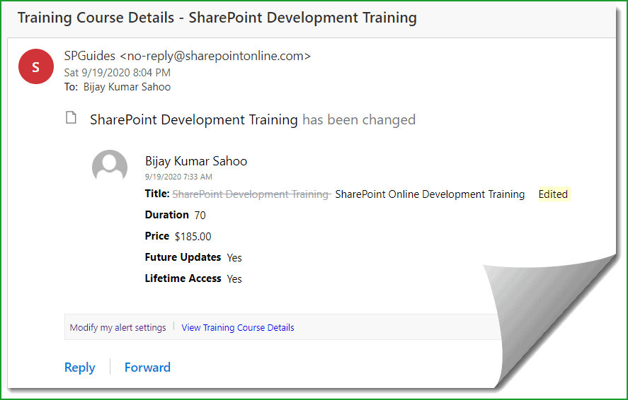 sharepoint alerts not working