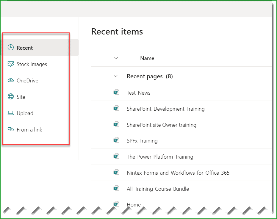 sharepoint online quick links web part