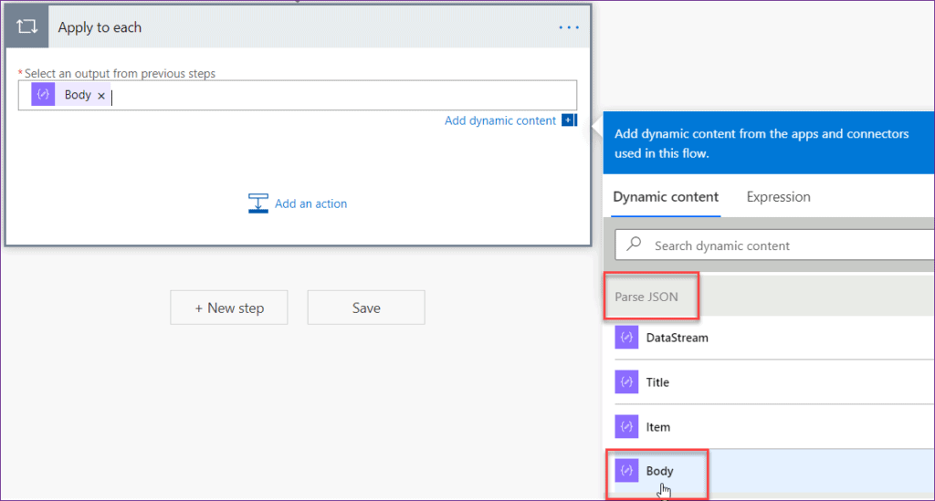 upload Powerapps files to SharePoint library using flow