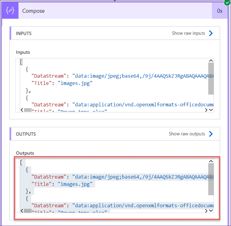 upload Powerapps files to SharePoint library using microsoft flow