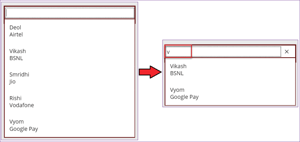 Add Items in PowerApps Combo box control