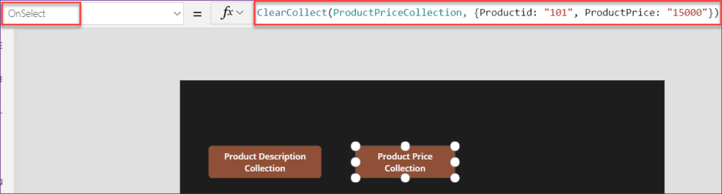 PowerApps Collection add columns