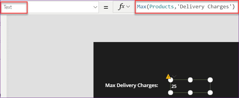 PowerApps find max value in SharePoint column