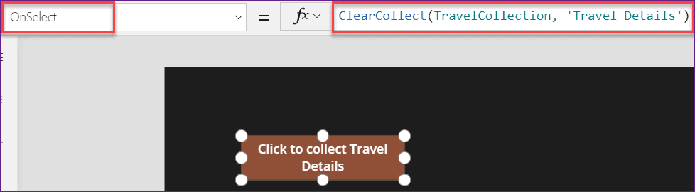 Remove unwanted columns from PowerApps Collections