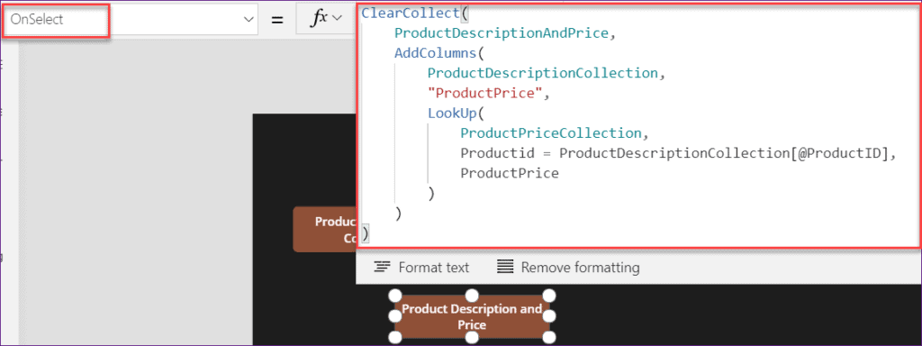 add columns in PowerApps Collection